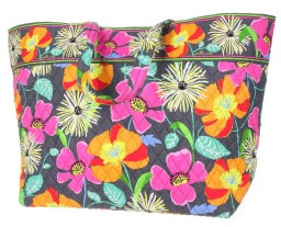 Jazzy Blooms tote