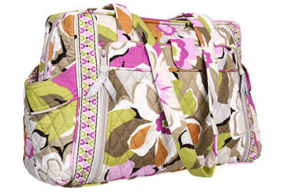 Vera Bradley's portobello road make a change baby bag