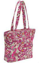 three o tote paisley meets plaid
